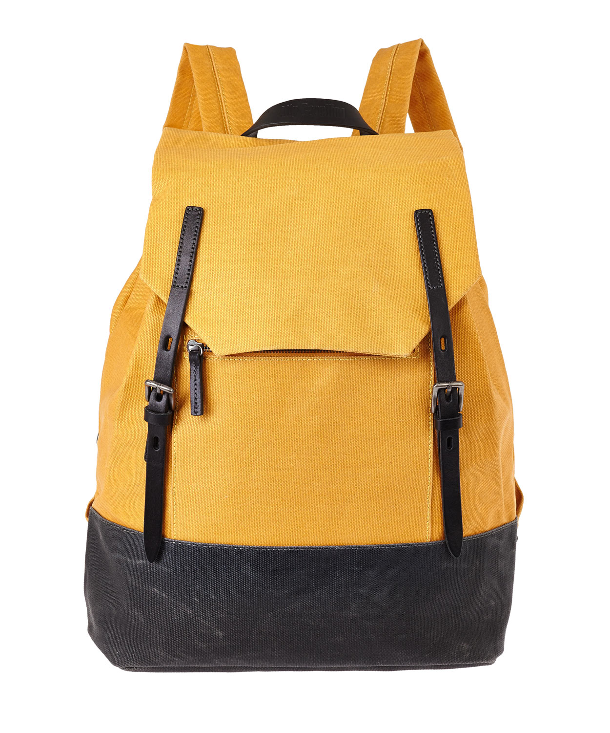 Lyst - Ally Capellino Mustard Dean Waxed Canvas Backpack in Yellow ... dd20250731