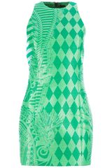 Balmain Sleeveless Dress - Lyst