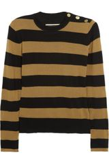 By Malene Birger Striped Wool Sweater - Lyst