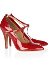 Maison Martin Margiela Patent leather Pumps - Lyst