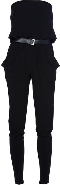 Michael by Michael Kors Strapless Jumpsuit - Lyst