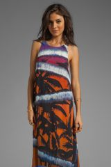 Surface To Air Aaron Print Maxi Dress - Lyst