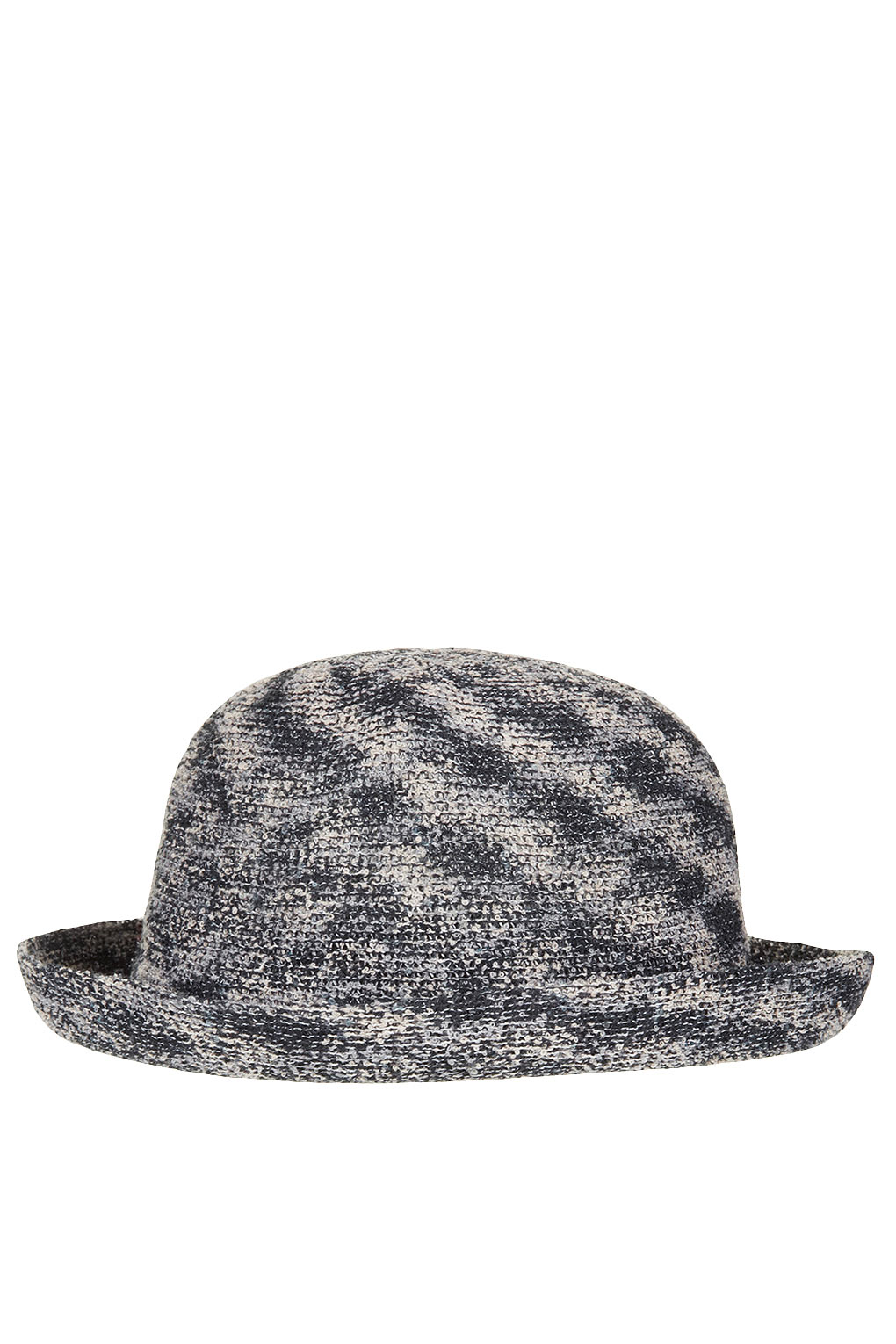 bdc38a84f8447 Lyst - TOPSHOP Transitional Bowler Hat in Gray