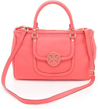 Tory Burch Amanda Double Zip Satchel - Lyst