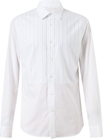 Alexander McQueen Layered Striped Cotton Shirt - Lyst