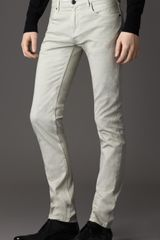 Burberry Shoreditch Overdyed Skinny Fit Jeans - Lyst
