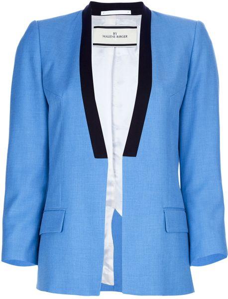 By Malene Birger Kines Blazer in Blue