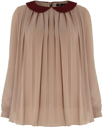 Cutie Pleated Top - Lyst
