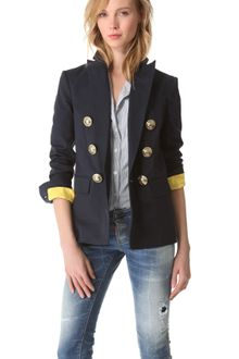 DSquared2 Susie Anchors Captain Jacket - Lyst