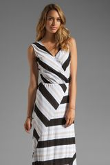 Ella Moss Zadie Stripe Dress - Lyst