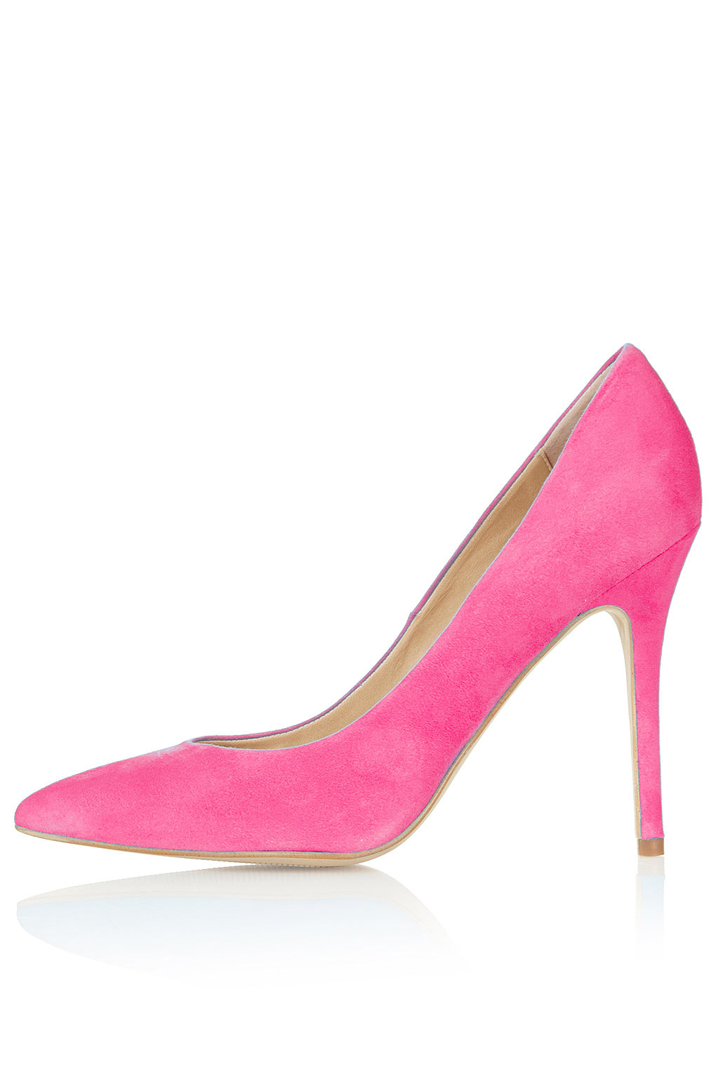 Topshop Gwenda Pointed Courts in Pink | Lyst
