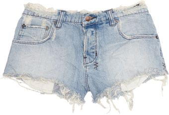 Ksubi Alberceque Distressed Denim Shorts - Lyst