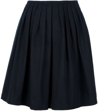 L'Autre Chose Pleated Skirt - Lyst