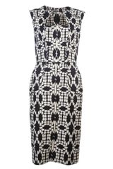 Lela Rose Mirror Image Dress - Lyst