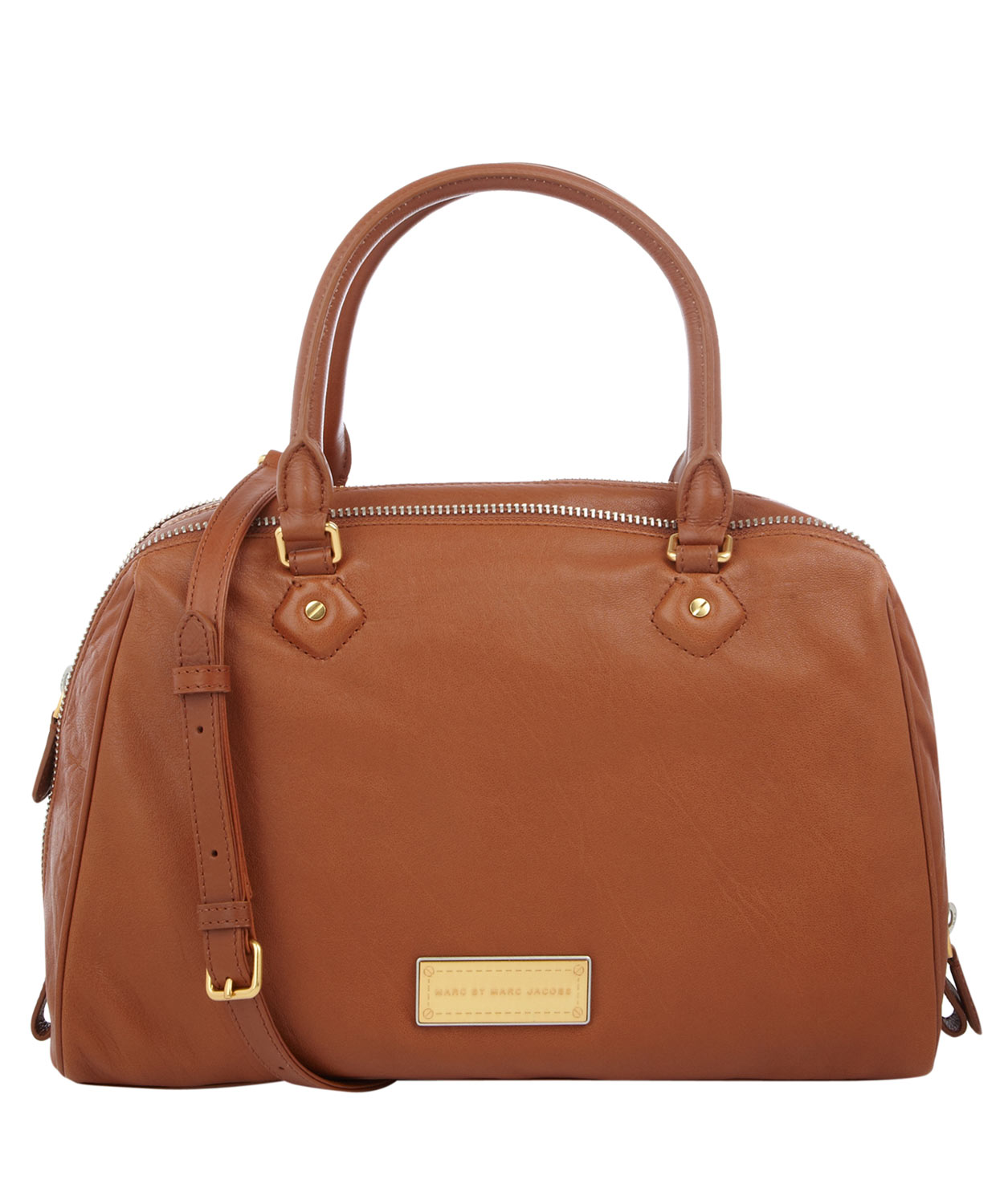 Lyst Marc By Marc Jacobs Tan Washed Up Lauren Tote Bag