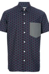 Marc Jacobs Dot Print Shirt - Lyst