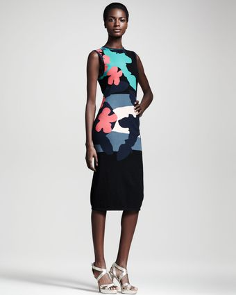 Opening Ceremony Tropical Intarsia Dress - Lyst