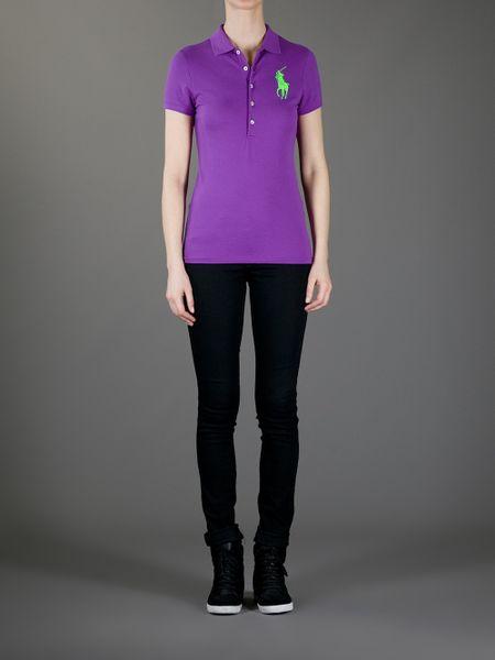 Ralph lauren purple label polo male models picture for Black ralph lauren shirt purple horse