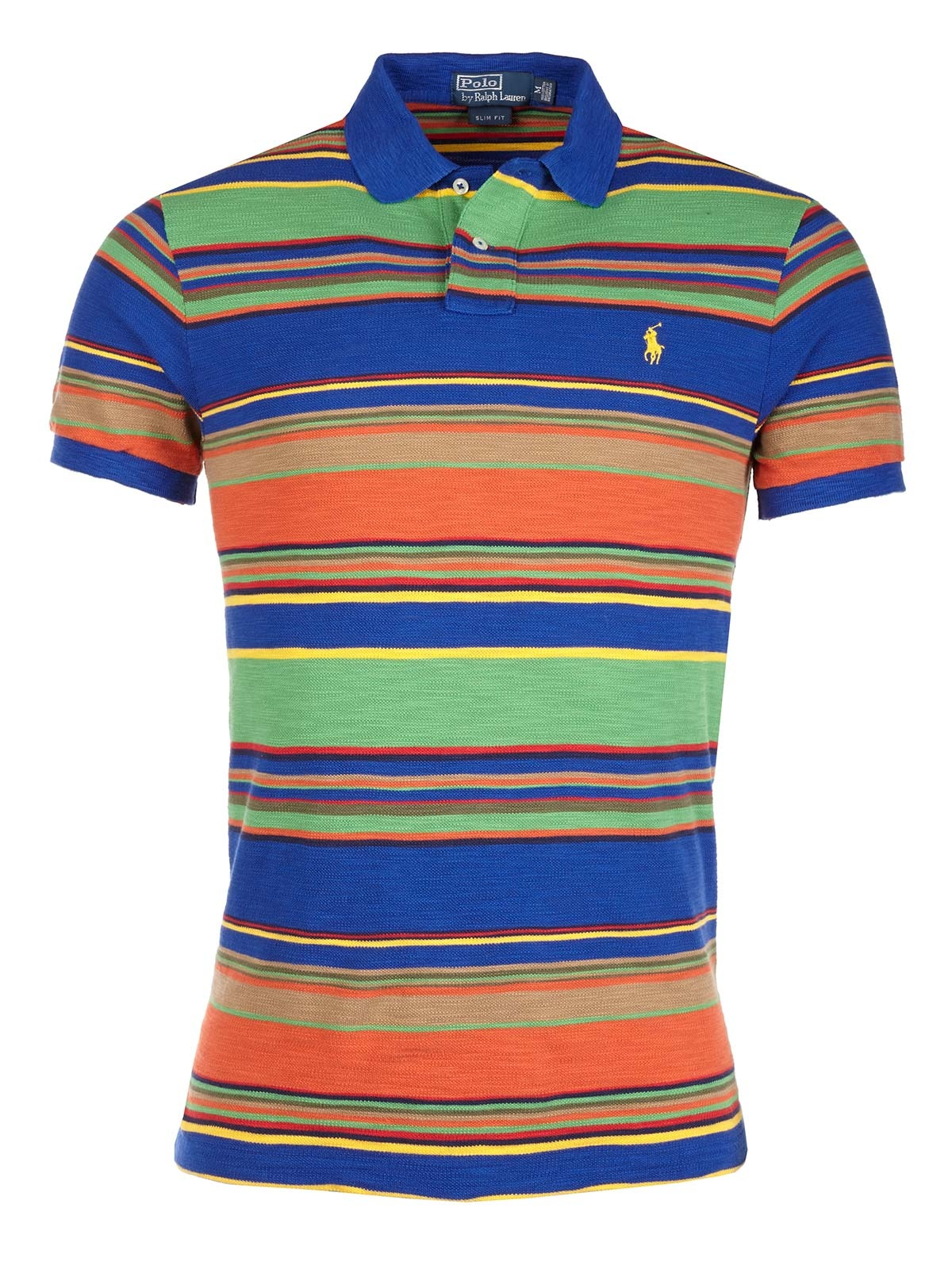 Ralph Lauren Striped Polo T-Shirt in Multicolor for Men | Lyst