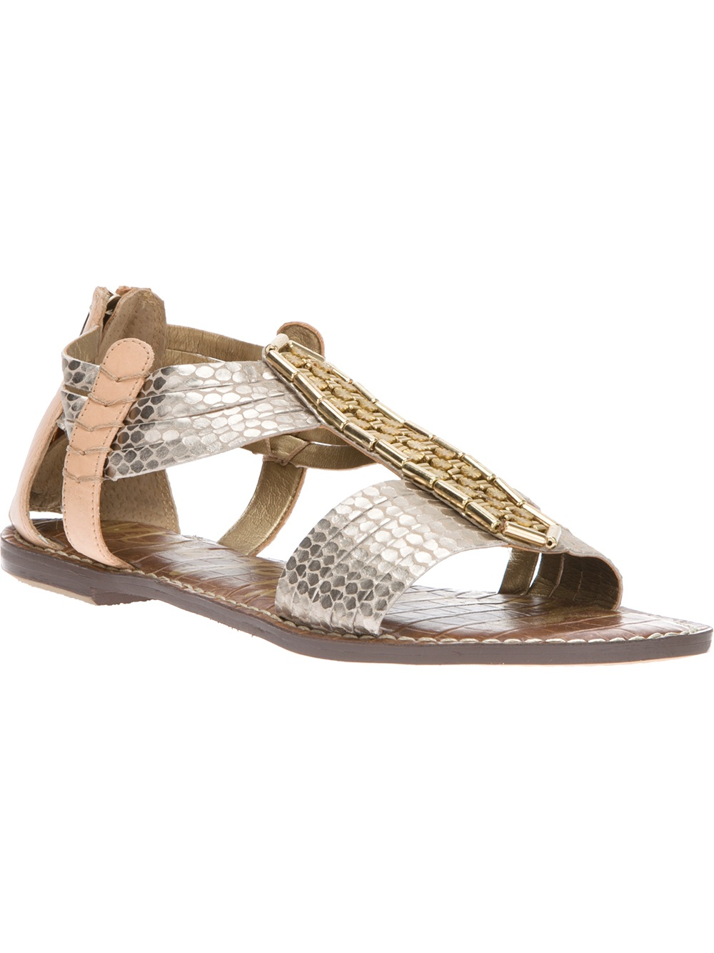 Lyst Sam Edelman Gatsby Sandals In Metallic