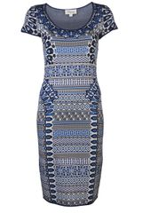 Temperley London Mimi Jacquard Dress - Lyst