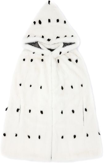 Valentino Mink Cape with Summer Ermine Tips - Lyst