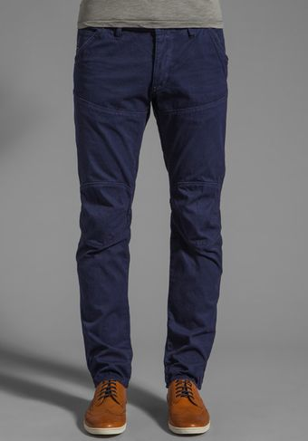 G-star Raw 3d Low Tapered in Brittany Blue - Lyst