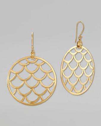 John Hardy Naga 18k Gold Wired Drop Earrings - Lyst