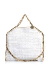 Stella McCartney Metallic Tweed Falabella Bag - Lyst