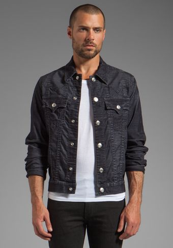 True Religion Jimmy Corduroy Jacket in Indigo - Lyst