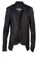 Tuesday Night Band Practice Leather Jacket - Lyst