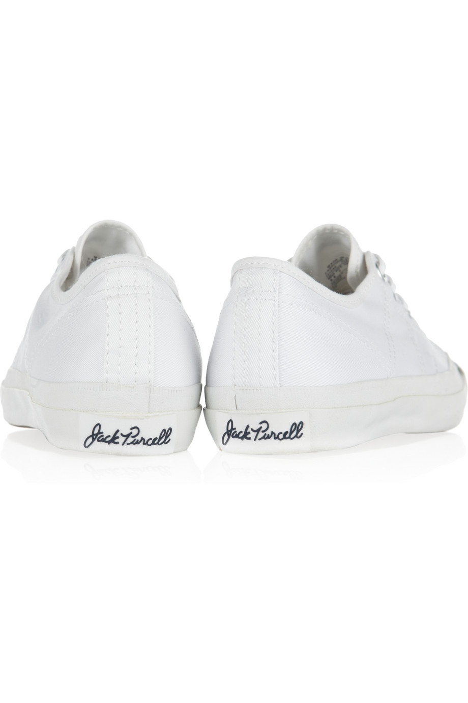 Lyst - Converse Jack Purcell Helen Canvas Sneakers in White 8ee79043b