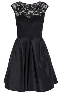 Notte By Marchesa Lace Bodice Cocktail Dress - Lyst