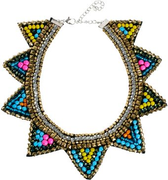 Asos Asos Triangle Bib Necklace - Lyst