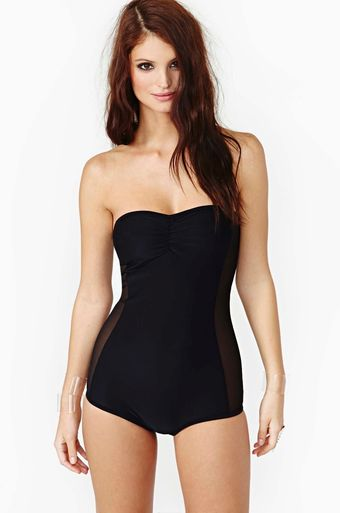 Nasty Gal Bella Swimsuit - Lyst