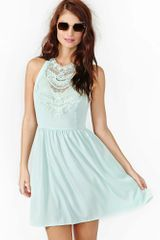 Nasty Gal Desert Spring Crochet Dress - Lyst