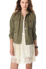 What Goes Around Comes Around Bragg Army Jacket - Lyst