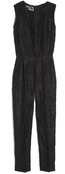 Giambattista Valli Sleeveless Lace Jumpsuit - Lyst