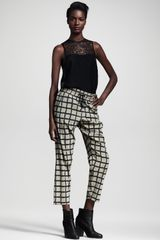 Rag & Bone Easyfit Windowpane Pants - Lyst