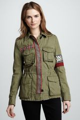 Sachin & Babi Denham Embroidered Cargo Jacket - Lyst