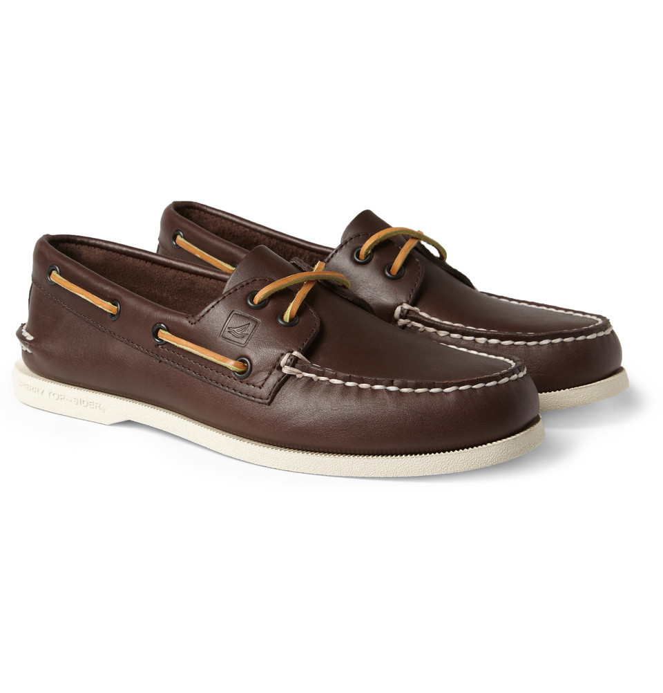 Leather Boat Shoes For Men Images Daily Casual