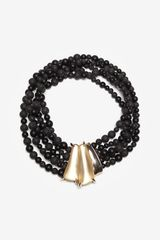 Alexis Bittar Durban Beaded Necklace - Lyst