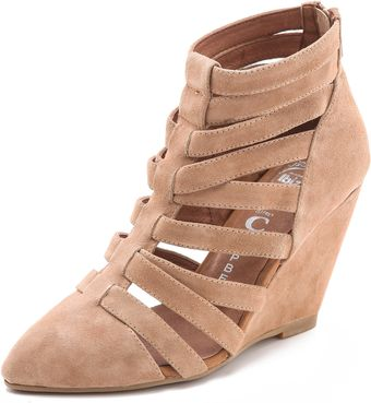 Jeffrey Campbell Vector Gladiator Booties - Lyst