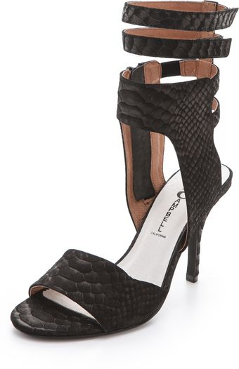 Jeffrey Campbell Skybox High Heel Sandals - Lyst