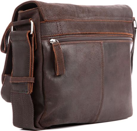 Jost Brown Leather Shoulder Bag 44