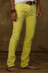 Ralph Lauren Slim Fit Colored Jean - Lyst