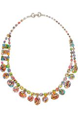 Tom Binns A Riot Of Color Glow-In-The-Dark Swarovski Crystal Necklace - Lyst