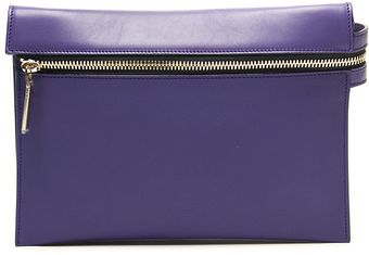 Victoria Beckham Zip Pouch Cross Body Bag - Lyst