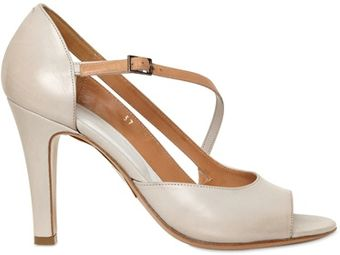 Maison Martin Margiela 90mm Leather Asymmetrical Pumps - Lyst