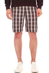 Michael Kors Plaid Shorts - Lyst